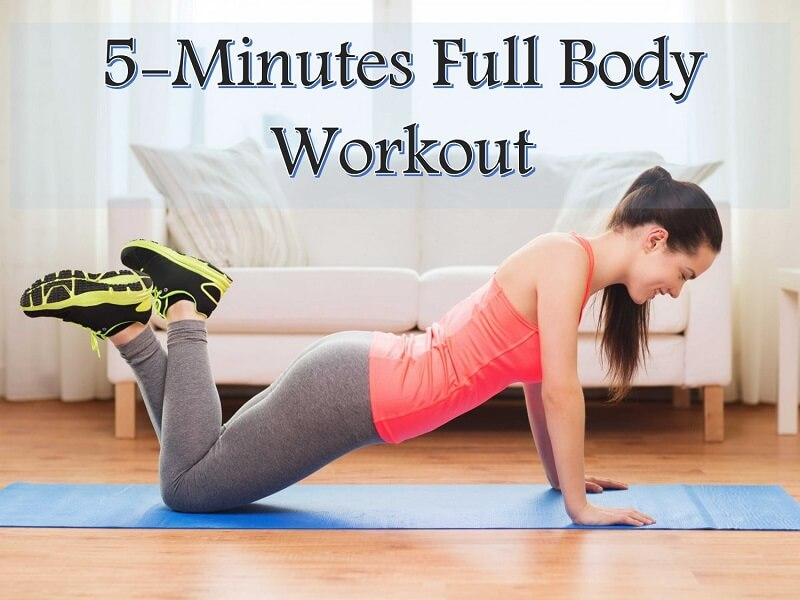 5 minute workout