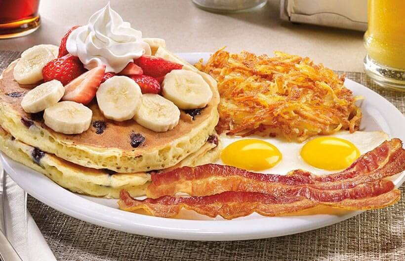 Banana Pancake Breakfast