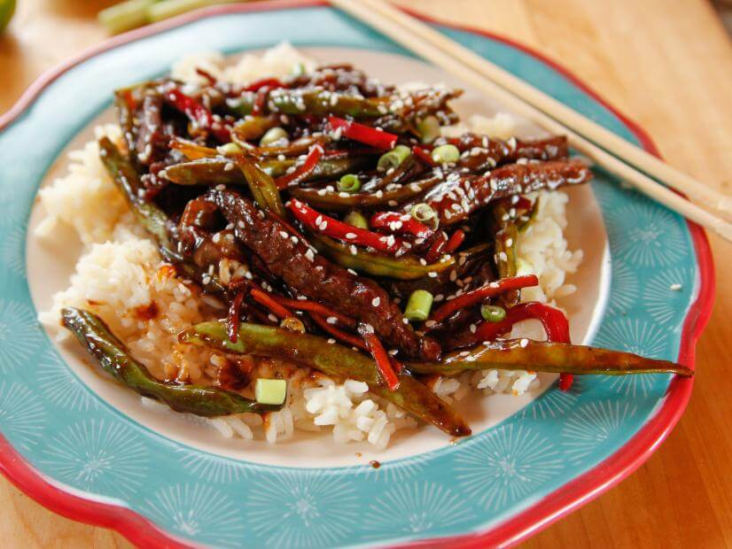 Beef Teriyaki with Rice