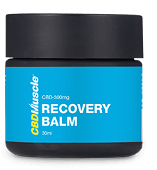 CBD recovery balm