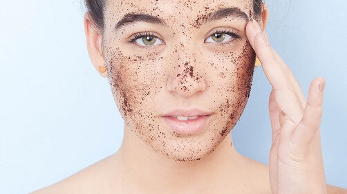 Exfoliation to look young