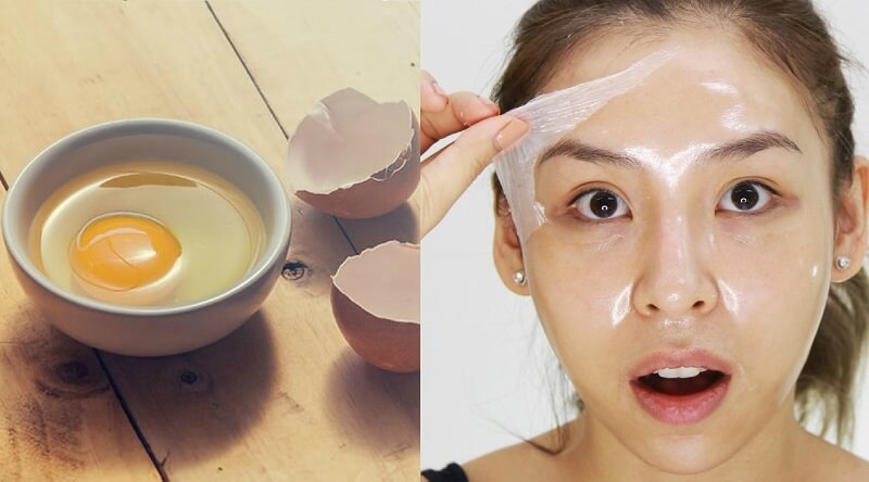 egg white for loose skin in 30s
