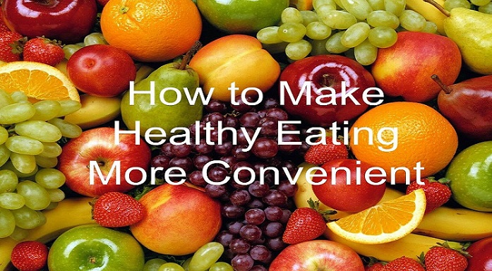 Healthy Eating More Convenient