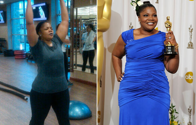 How MO'NIQUE Gets Motivated To Lose Weight?