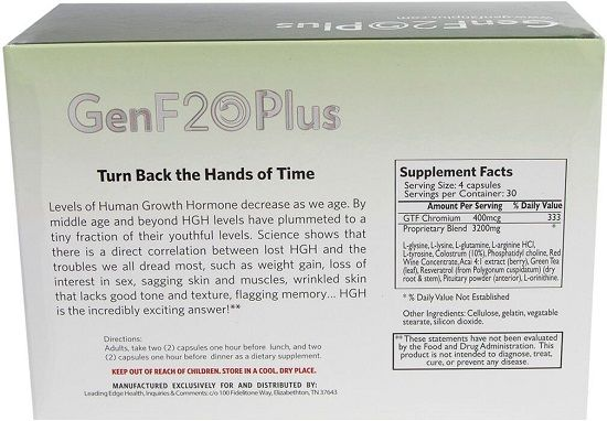 How to take genf20 plus