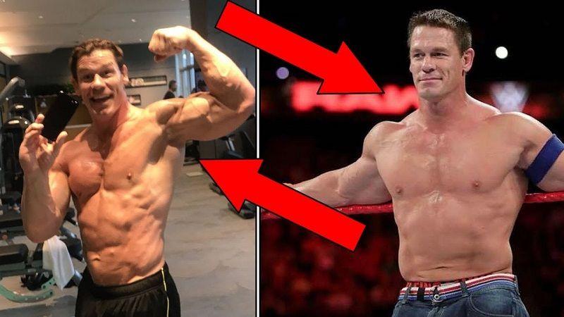 john cena's body transformation