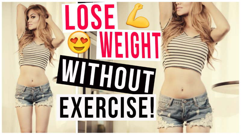 How do I Lose Weight without Doing Exercise? 5 EASY Tips!