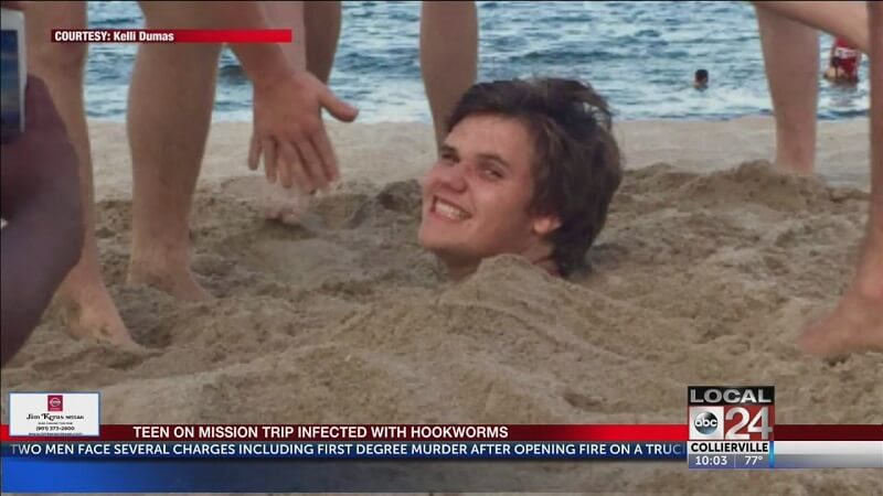 Boy's Romp On South Florida Beach Ends With Painful Hookworms