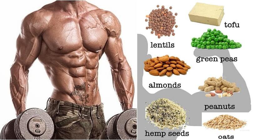 high protein vegetarian diet for bodybuilding