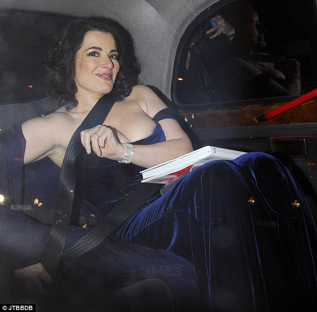 Nigella Lawson onto being famed for her curvy figure