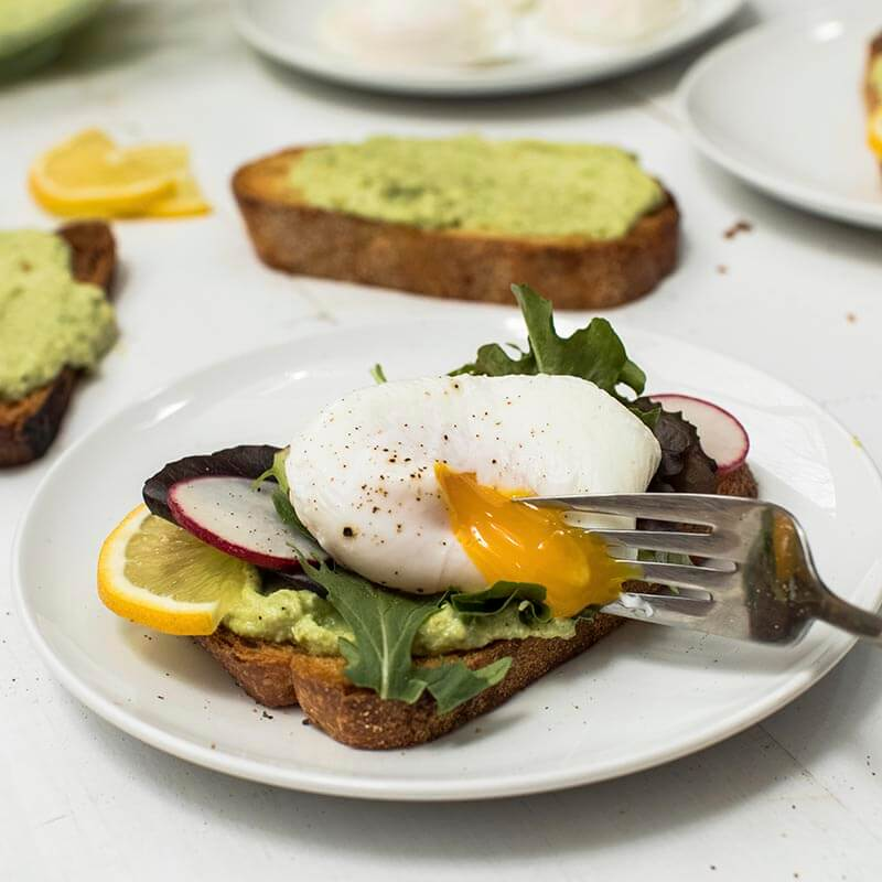 Poached Egg and Avocado on Toast