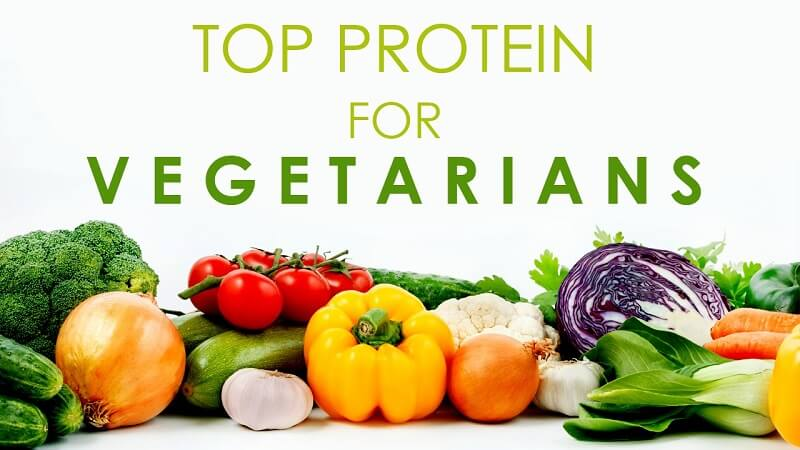 building muscle on a high-protein vegetarian diet