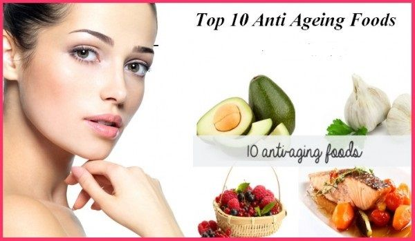 10 Anti Ageing Foods