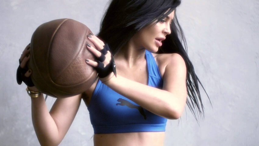 When Kylie works out, she ensures to incorporate weight training