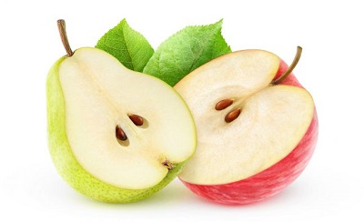 apple and pears to burn fat