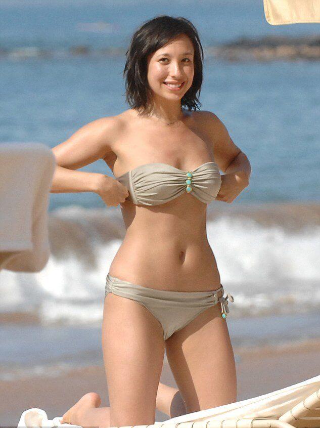 cheryl in bikini