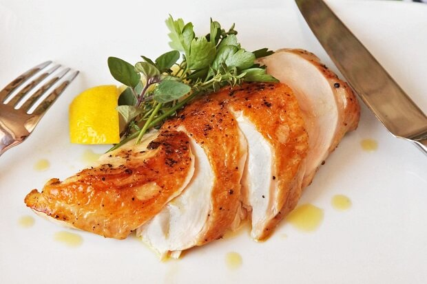 chicken breast for low fat