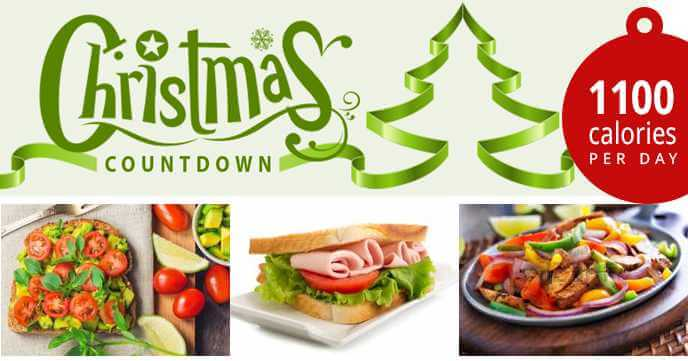 christmas countdown diet