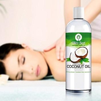 coconut massage oil