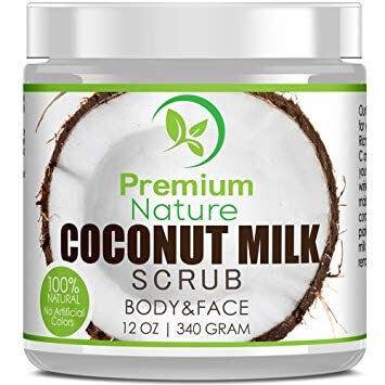 coconut oil body scrub