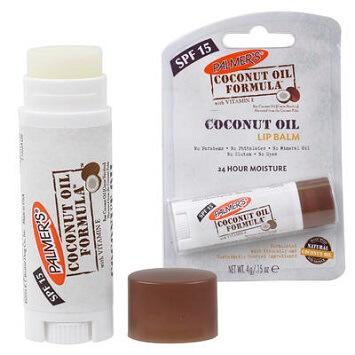 coconut oil lip balm