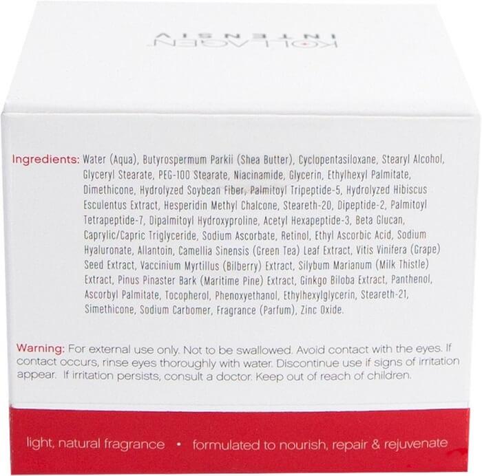 collagen intensiv ingredients