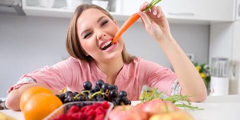 eat fruits and veggies
