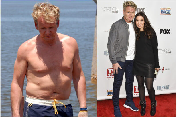 Pictures of Tana and Shirtless Gordon Ramsay