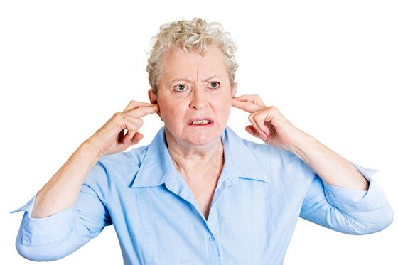 women feeling irritated