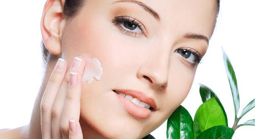 moisturize skin and glow