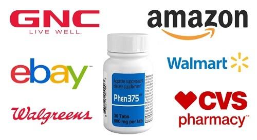 Phen375 GNC   Where to buy Phen375 GNC, Amazon, Walmart or eBay?