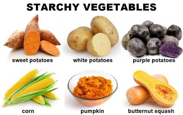Starch Vegetables