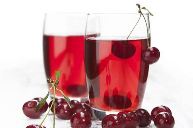 tart cherry juice for low fat