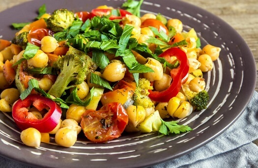 vegan healthy and weight loss diet