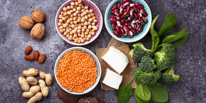 vegan protein foods for weight loss