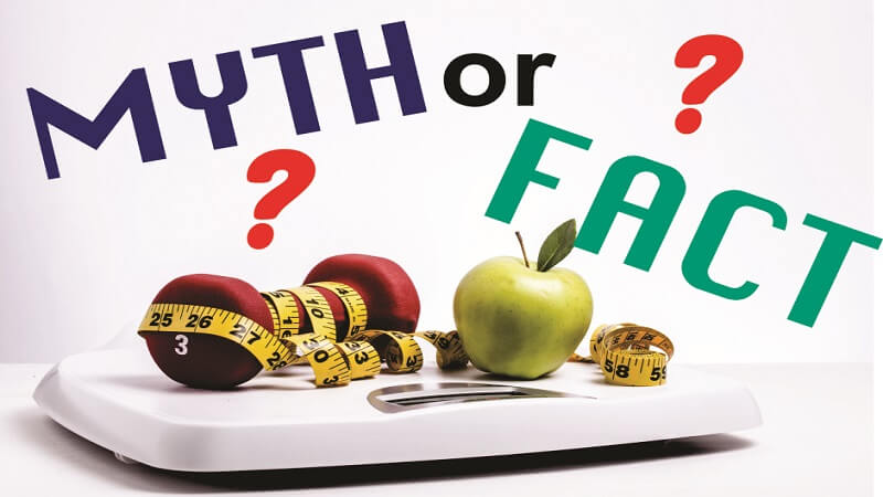 weight loss myth or fact