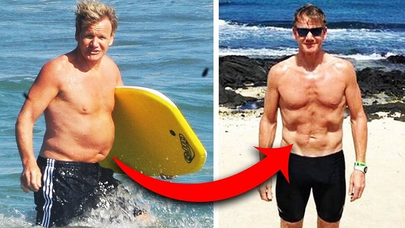 Gordon Ramsay Dramatic Celebrity WEIGHT LOSS