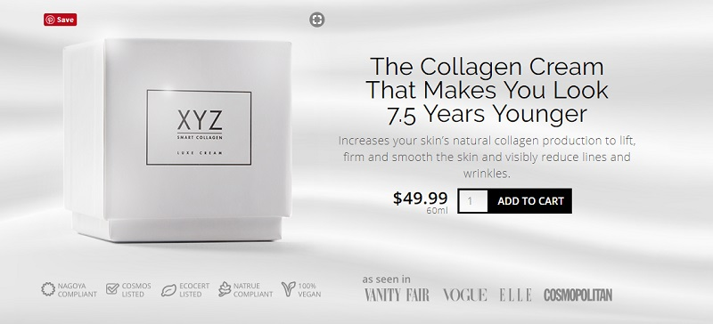 xyz collagen price