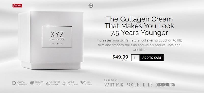 xyz collagen price
